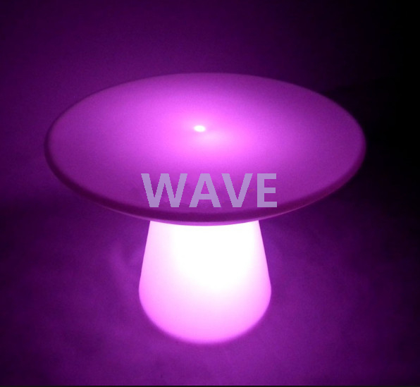 Waterproof color change Coffee LED Table Furniture