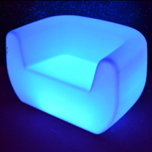 outdoor color change LED Lighted up Modern Sofa