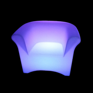 outdoor LED Chair Sofa with Remote Control