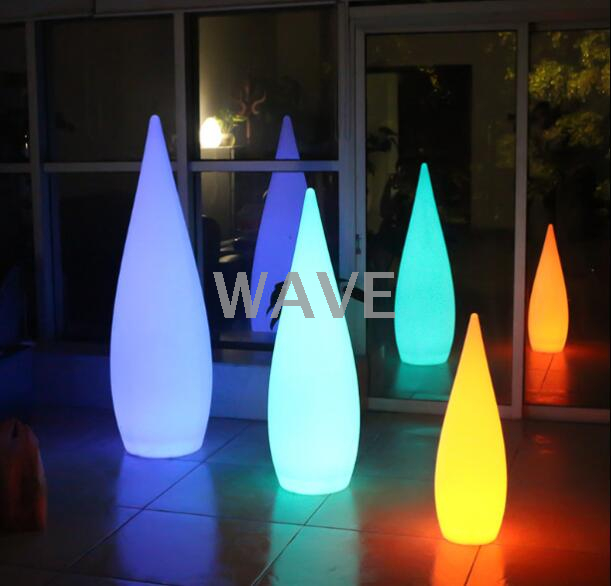 PE colors change Water Drop LED Decorative Light