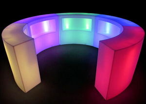 Indoor Outdoor Portable contemporary LED Bar Counter