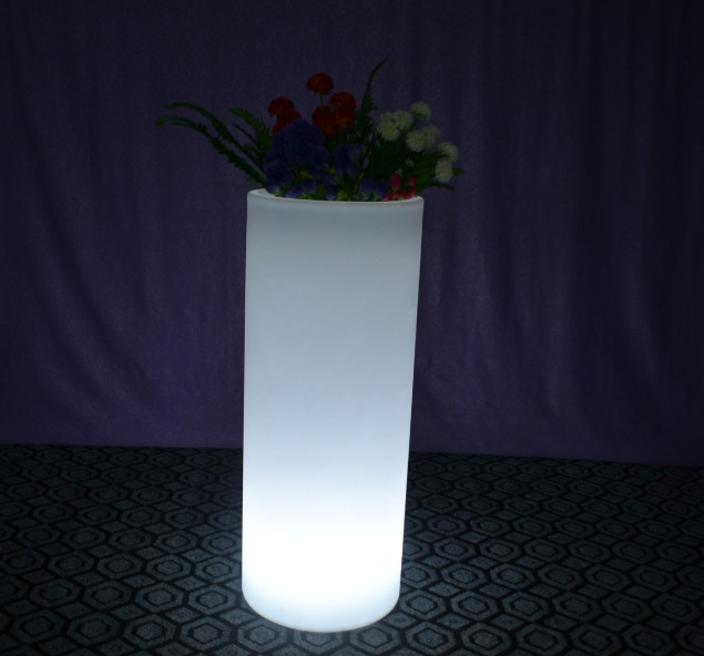 led furniture manufacturer export and factory in china-wave ... & Illuminated Glowing Tall Plastic Flower Pots - Buy lighted ...