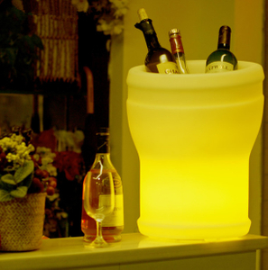 Champagne LED Ice Bucket