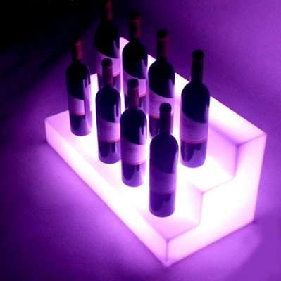 outdoor color change LED Wine Rack for Nightclub