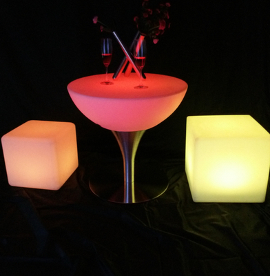16 colors change High-quality LED Coffee Cocktail Table