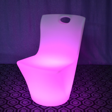 outdoor Waterproof LED Glowing Dinner Chair