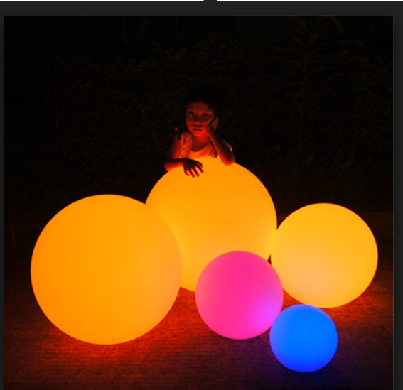 Waterproof outdoor use led decoration ball