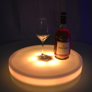 colors change Illuminated Light up LED Service Wine Tray