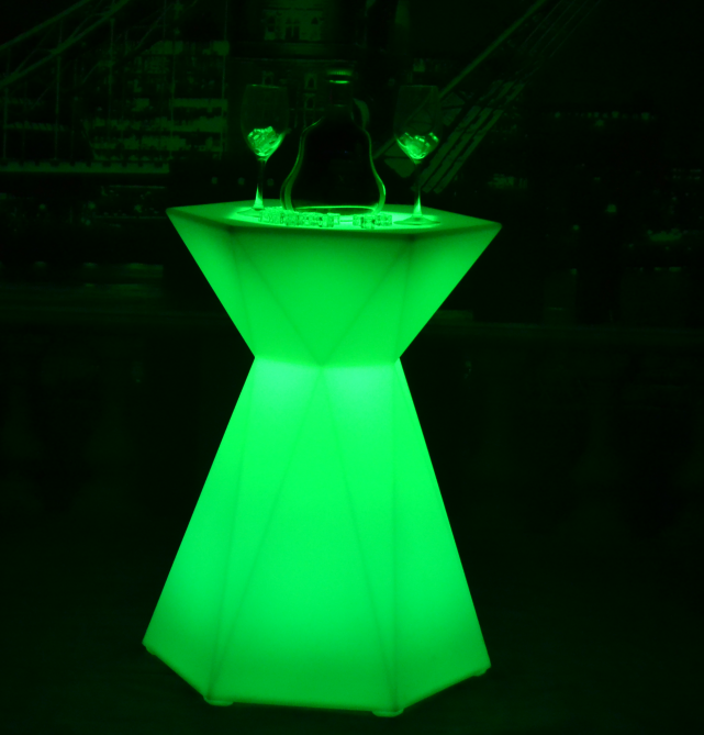 IP68 color changes LED Cocktail Table