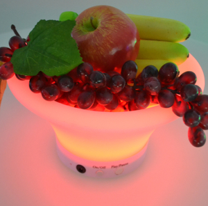 Rechargable LED Ice Bucket and Fruit Tray