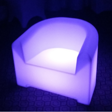 outdoor colors change Bar Setup Illuminated LED Sofa